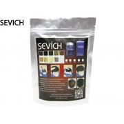 Zzahušťovač vlasů Sevích - keratin, 100g, náhradní balení Barva:: Černá
