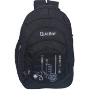 quaffor 17 inch Laptop Backpack(Black)