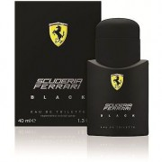 Ferrari black 40 ml eau de toilette edt spray profumo uomo