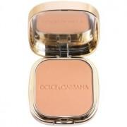 Dolce & Gabbana The Foundation Perfect Matte Powder Foundation maquillaje en polvo matificante con espejo y aplicador tono No. 140 Tan 15 g