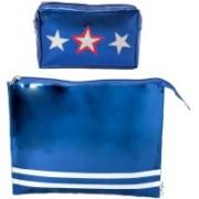 Lill Pumpkins Blue Star Kit and Blue Zip Folder Combo Set(Blue)