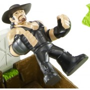 WWE Rumblers Undertaker Figure with Casket Match Playset