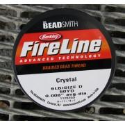 FireLine 6 LB - Crystal / Klar, 50 YD