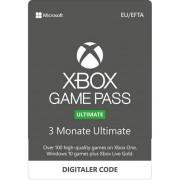 Microsoft Xbox GamePass Ultimate 3 Monate inkl. Gold