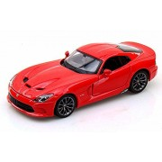 2013 Dodge Srt Viper Gts, Red Maisto 31271 1/24 Scale Diecast Model Car
