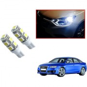 Auto Addict Car T10 9 SMD Headlight LED Bulb for Headlights Parking Light Number Plate Light Indicator Light For Audi RS 6