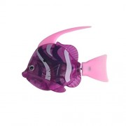 Robot Fish Artificial Moving Floating Fishes Ornament Toy Childen Kids Robotic Gift Decorations for Aquarium Fish Tank (Purple)