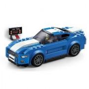 Emob 203 PCS Classic Super Racing Car Theme 3D Bricks Building Blocks Toy for Kids (Multicolor)