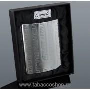 Tabachera metalica Gentelo in cutie pentru 10 tigari 0359