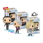 Yuri On Ice Set 3 Piezas Funko Pop Envio Gratis!!!