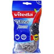 Burete vase inox spiralat Glitzi 2 buc/set Vileda