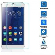 SCREEN CARE Crystal Clear Screen Protector Guard Anti-Bubble Free Tempered Glass Guard for honor 7