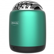 NILLKIN Metal Cavity Remote photography Bullet Mini Wireless Speaker with Mic - Green