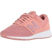 New Balance Women's 24v1 Lifestyle Shoe Sneaker, dusted peach, 5 B US