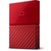 """HDD ext WD 4TB crvena, My Passport, WDBYFT0040BRD-WESN, 2.5"""", USB3.0, 24mj"""