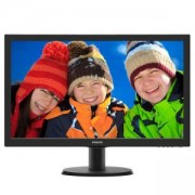 LCD монитор Philips 23.6 инча със SmartControl Lite 243V5LHAB