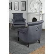 My-Furniture POSITANO Grigio del temporale - Poltrona lounge