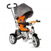 Dječji tricikl Giro sivo - narančasti