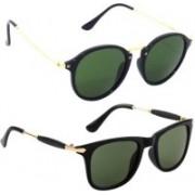 SRPM Cat-eye, Wayfarer Sunglasses(Clear)