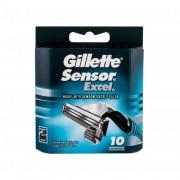 Gillette Sensor Excel 10 ks náhradné ostrie pre mužov
