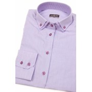 Dámská košile lila s dlouhým rukávem Avantgard 720-3833-40