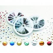 Pebaro - set di pietre strass - 1440 pz