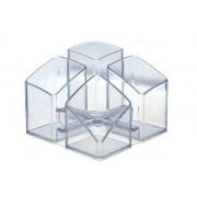 Suport pentru articole de birou, HAN Scala - transparent cristal