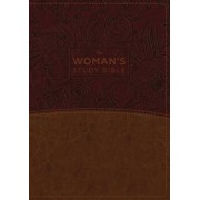 The NKJV, Woman's Study Bible, Fully Revised, Imitation Leather, Brown/Burgundy, Full-Color: Receiving God's Truth for Balance, Hope, and Transformati/Dorothy Kelley Patterson