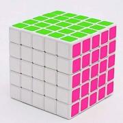 Ultra Smooth Stickerless Twisting 5x5x5 Magic Puzzle RubiK Cube