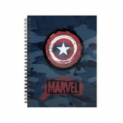 Marvel, A5 Rutat Block - Captain America