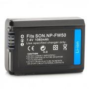 """""""Reemplazo NP-FW50 7.4V """"""""1080mAh"""""""" paquete de la bateria para Sony NEX-5 / NEX-3 + Mas"""""""