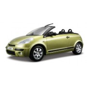 Bburago 1:24 Metal Green Citron C3 Pluriel Cabriolet