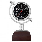 Bulova B5402 Sag Harbor Reloj de Mesa (21 cm), Color café