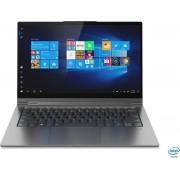 Lenovo Yoga C940 Hybride (2-in-1) Grijs 35,6 cm (14'') 3840 x 2160 Pixels Touchscreen Intel® 10de generatie Core™ i7 16 GB LPDDR4x-SDRAM 1000 GB SSD Wi-Fi 6 (802.11ax) Windows 10 Home