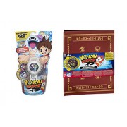 Hasbro Yo-Kai Watch Season 1 & Medallium Collection Book Bundle of 2
