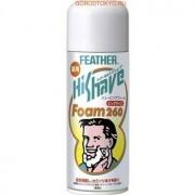 """Feather """"HiShave"""" Пена для бритья с экстрактом гамамелиса, 260 г."""