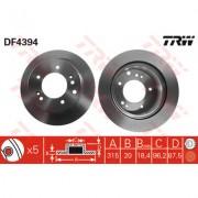 TRW - (TRW KFZ Ausruestung GmbH) TRW - Bremsscheibe (Satz)