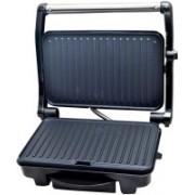 WISTEC 1500-Watt 2-Slice Panini Grill Sandwich Maker Grill(Black)