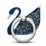 SWAROVSKI Anillo de Cisne de Acero Inoxidable, [Azul]
