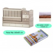 Set patut + salteluta Nia Oak-Cream