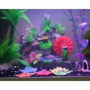 Oanda Decoración Del Acuario Artificial Rock House Castillos Resina Ornamento Para Fish Tank