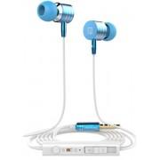In Ear Oordopjes Blauw I7 - Inclusief Microfoon en Volumeregelaar