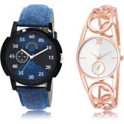 The Shopoholic Black Blue Silver Combo New Stylist Latest Black And Blue And Silver Dial Analog Watch For Boys And Girls Mens Leather Watches