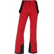 KILPI Dámské lyžařské kalhoty EUROPA-W HL0010KIRED Červená 34