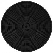 vidaXL Филтри с активен въглен за абсорбатори 2 бр 175x30 мм