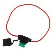 ELECTROPRIME® New in Line Standard Blade Fuse Holder Splash Proof for 12V 30A Fuses Car