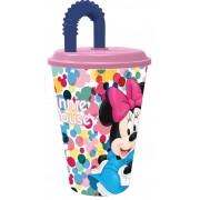 Disney Minnie szívószálas pohár 3D