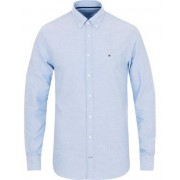 Tommy Hilfiger New York Fit Engineered Oxford Shirt Blue
