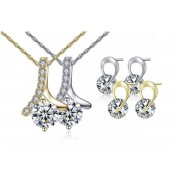 Your Ideal Gift £12.99 instead of £59 for a ribbon-style crystal solitaire set from Your Ideal Gift - save 78%