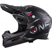 Oneal O´Neal Fury RL Synthy Casco Negro Gris XL